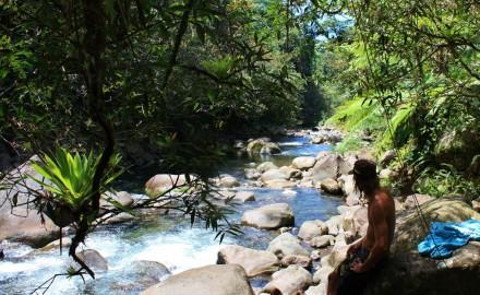détente à la rivière